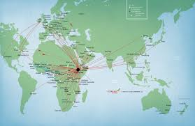 United International Route Map by Corporate Travel Program