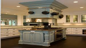 kitchen island with range top fabulous cherry cabinets with white