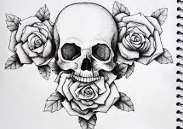 tattoos skull and roses 1000 ideas about skull roses on