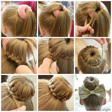 put your hair in a bun with braids top 5 bun hairstyles for girls bite of delight