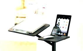 bureau pc portable bureau pc portable support pc portable pour lit table lit pour