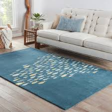 Fish Area Rug Lake And Cabin Home Area Rugs