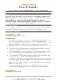 Uat Tester Resume Sample by Application Analyst Resume Samples Qwikresume