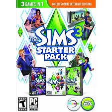 ea the sims 3 starter pack pc windows 73137 walmart com