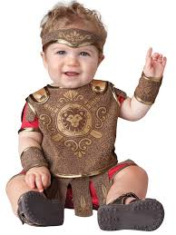 Boy Infant Halloween Costumes Amazon Incharacter Baby Boy U0027s Gladiator Costume Clothing
