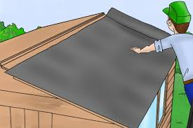 How To Re Roof A Shed With Onduline Corrugated Roofing Sheets by How To Assemble A Forest Garden Shed