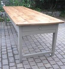 table de cuisine ancienne ancienne table de ferme en bois par le marchand d oublis idée deco