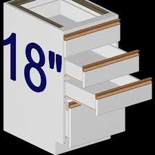 Kitchen Cabinets Base Model 18 Inch Kitchen Base