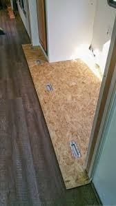 tips to replace the flooring inside a rv slide out rv cing