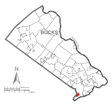 Zip Code Map Of Philadelphia by Cornwells Heights Eddington Pennsylvania Wikipedia