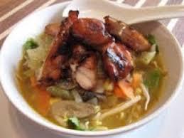 cuisine asiatique poulet soupe repas à l asiatique et poulet caramélisé recette ptitchef