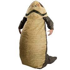 Crusher Halloween Costume Jabba Hutt Inflatable Halloween Costume Green Head
