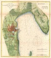 cumberland lake map file 1872 u s coast survey map of plattsburgh and lake chlain