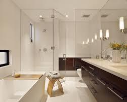 bathroom contemporary bathrooms ideas with brown motif floor