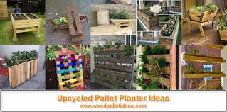 pallet made garden u2013 wood pallet ideas