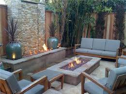 Backyard Fire Feature Tropical Landscaping JDS Landscape Design - Backyard beach design
