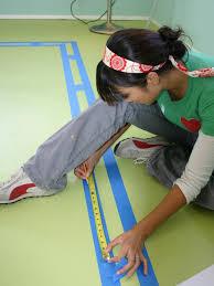 Concrete Faux Paint - painting a faux area rug hgtv