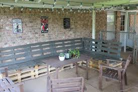 Diy Wood Pallet Outdoor Furniture by Diy Outdoor Patio Furniture From Pallets
