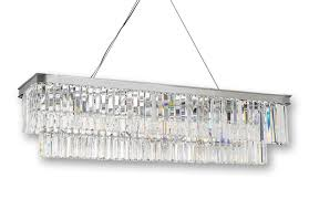 chandelier chandelier rectangular chandelier fixture wayfair
