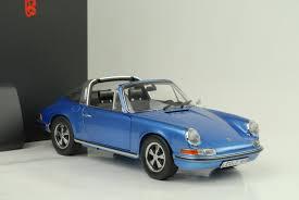 classic porsche models schuco porsche 911s 2 4 targa 1973 blue metallic diecast model car