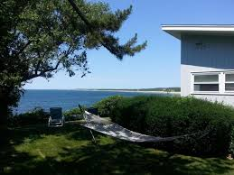 lawn area on side of house falmouth cape cod vacation rental on