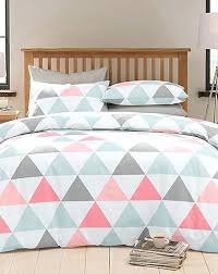 graphic design duvet covers coral grey and white bedding with a in