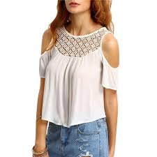 cheap crochet top summer blouse womens blouses crochet