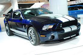 ford mustang shelby gt500 review ford mustang shelby gt500 coupe detroit 2009 picture 47896
