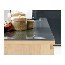 ikea glass top malm glass top transparent gray 63x18 7 8 ikea to place over