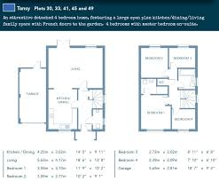 floor plans for large homes honey meadow dobwalls peare fine homes cornwall and devon