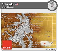 colorado physical map free physical 3d map of colorado