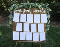 Wedding Seating Signs Find Your Seat Sign Etsy