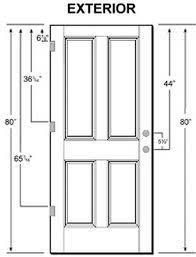 Standard Height Of Interior Door Typical Bedroom Door Size Room Image And Wallper 2017