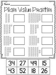 let u0027s practice place value student worksheets for grades 1 2