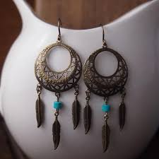 beautiful ear rings beautiful dreamcatcher earrings curious oddities