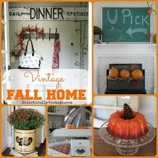 fall home decorating vintage fall home tour creative fall decorating ideas