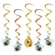 bumble bee party favors bee dangling whirl party decorations