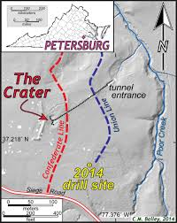 Battle Of Gettysburg Map The Saddest Affair A Geologic Perspective On The Battle Of The