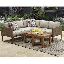 Patio Sectional Sofa Better Homes And Gardens Davenport 7 Piece Outdoor Sectional Sofa