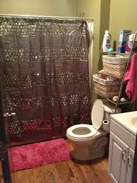 bathroom ideas with shower curtain shower curtain ideas small bathroom decorating with