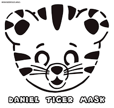 daniel tiger coloring pages coloringeast com