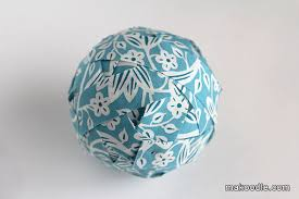 How To Make Decorative Balls Fabric Covered Decorative Balls Makoodle