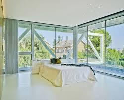 chambre architecte design interieur chambre coucher fenêtres sol plafond