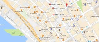 Seattle Tourist Map by Grand Opening Pike Place Market Foundation