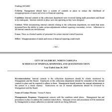 the city of salisbury n c responds to attorney todd paris u0027s