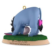 eeyore not much of a winnie the pooh collection ornament