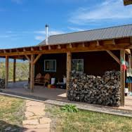 off grid straw bale homestead in colorado small house bliss