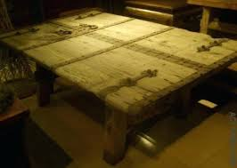 old doors made into coffee tables kitchen table kitchen table made from old door some insight about