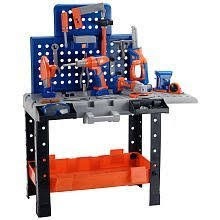 home depot kids tool bench amazon com the home depot ultimate workshop play set toys games