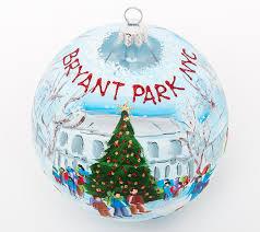 painted ornament bryant park